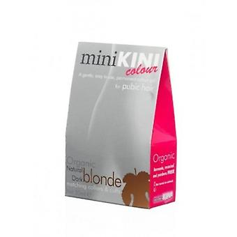 MiniKINI Colour - Organic colour for pubic hair - DARK BLONDE