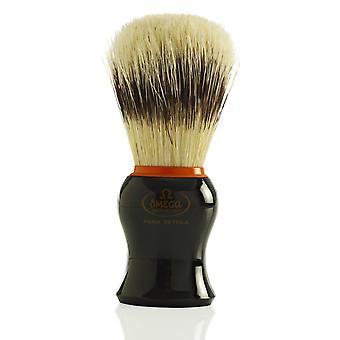 Omega 11574 Pure Bristle Shaving Brush