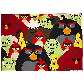 Tappeto Cameretta Angry Birds 95x133cm