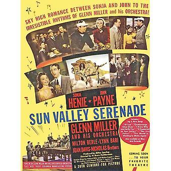 Sun Valley Serenade filmposter (11 x 17)