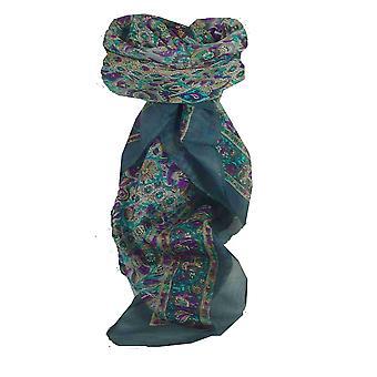 Maulbeere traditionelle quadratischen Seidentuch Har Perle von Pashmina & Seide