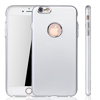 Apple iPhone 6 / 6s plus case - cel telefoon case voor Apple iPhone 6 / 6 s plus -mobiele geval zilveren