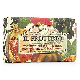 Nesti Dante Il Frutteto nourrissant savon - Grenade & cassis - 250g / 8,8 oz
