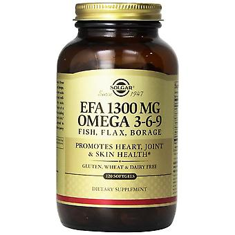 Solgar EFA 1300 mg Omega 3-6-9 Softgels 120ct