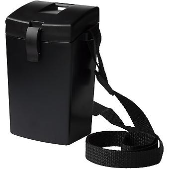 Witz Lightweight Waterproof Shutter Case with Lanyard - Black