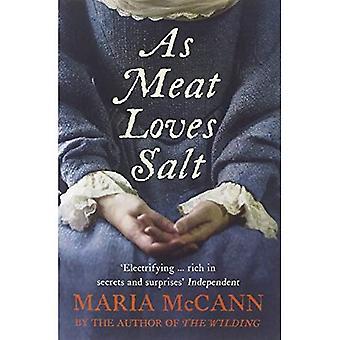 Als vlees houdt van zout