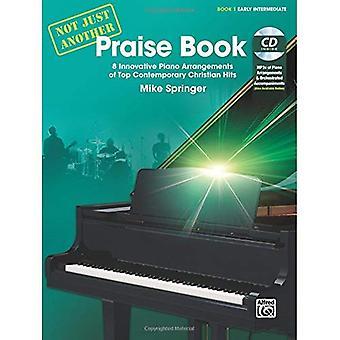 Inte bara en annan beröm bok, Bk 1:8 innovativa arrangemang för Piano av Top Contemporary Christian träffar, bok & CD (inte bara en annan)