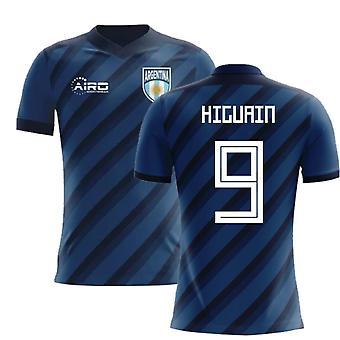 2020-2021 Argentine Away Concept Football Shirt (Higuain 9)