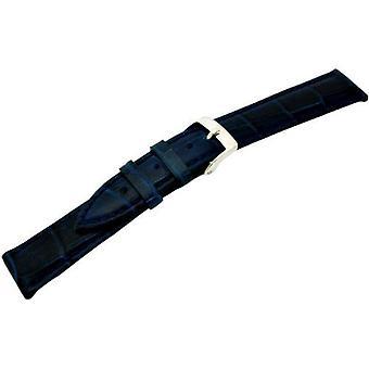 Morellato جلدية سوداء حزام سيدات الأزرق فقاعات 18 مم A01X2269480061CR18