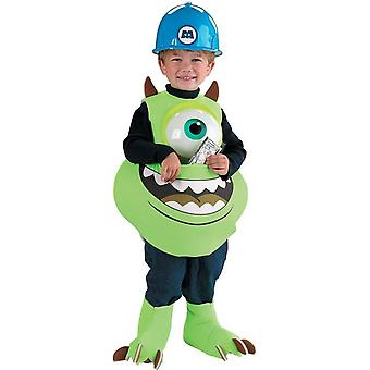 Mike With Candy Monsters University Child Costume