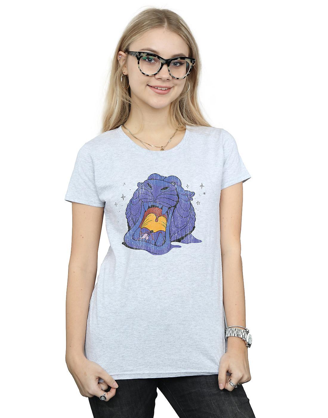 Disney Women's Aladdin Cave Of Wonders Distressed T-Shirt