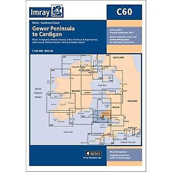 Imray Chart C60 - Gower Peninsula to Cardigan by Imray - 9781846239342
