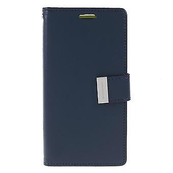 Mercury GOOSPERY Rich Diary for Samsung Galaxy S10e-Dark Blue