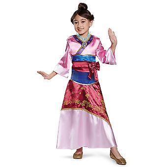Mulan Deluxe Disney Princess Asian Story Book Week Toddler Girls Costume 3T-4T