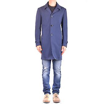 L.b.m. Ezbc215016 Men's Blue Cotton Coat