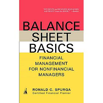 Balance Sheet Basics - Financial Management for Nonfinancial Managers
