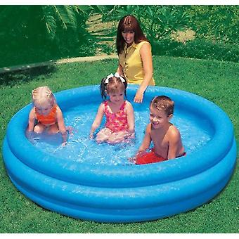 Intex Crystal Blue Three Ring Inflatable Paddling Pool Various Sizes