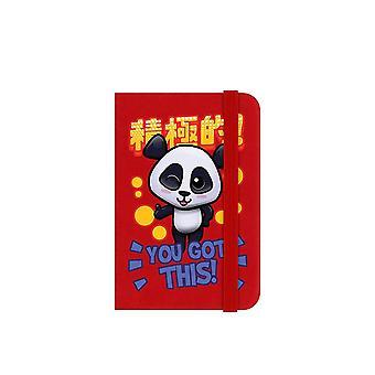 Handa Panda You Got This Mini Notebook