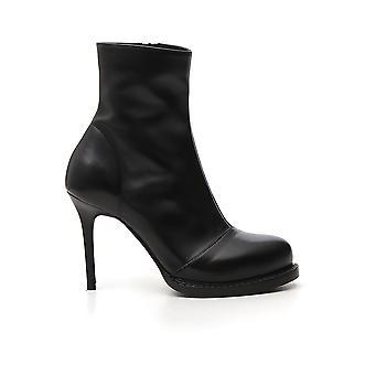 Stivali alla caviglia Ann Demeulemeester 19142818350099 Donne's Stivali stivaletti in pelle nera