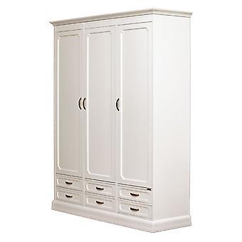 Modulare Garderobe 3 Türen 6 Schubladen