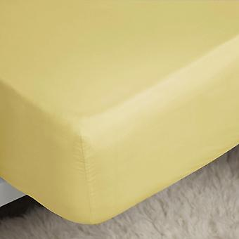 Belledorm 200 Thread Count Cotton Percale Extra Deep Fitted Sheet