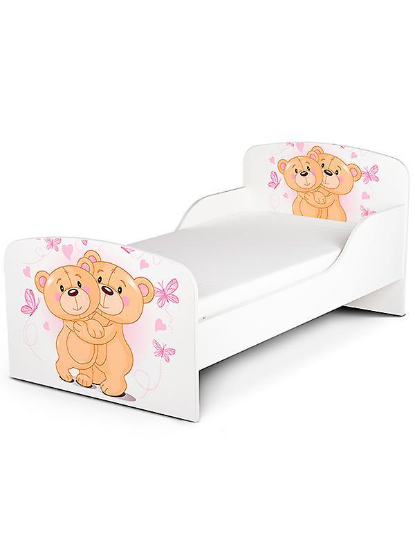 PriceRightHome Teddy Bear Hug Toddler Bed