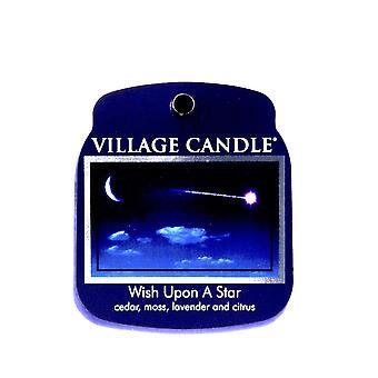 Kylän kynttilävahan sulatuspakkaukset käytettäväksi sulatortun & Öljypolttimet toivovat tähteä