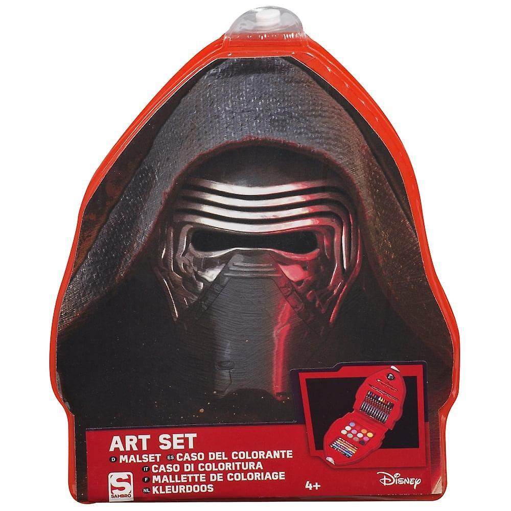 Star Wars Shaped Art Case