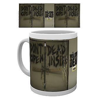 All'interno di morto morto a piedi Boxed tazza bevente