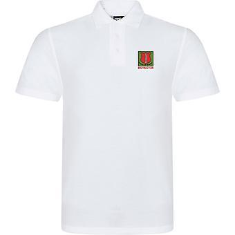 Skolan för infanteri instruktör-licensierade brittiska armén broderade RTX Polo