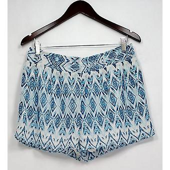 Pantaloncini Romeo & Giulietta stampati Elastic Waist Pull On Blue