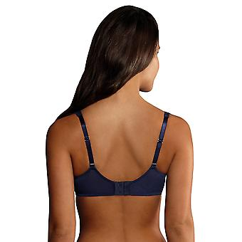 Rosa Faia 5634-382 Women's Selma Patriot Blue Embroidered Underwired Full Cup Bra