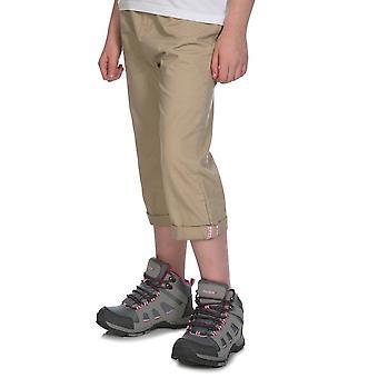 New Peter Storm Kids Walking Treking Hiking Capri Pants Beige