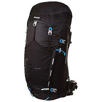 Bergans Rondane - Unisex Backpack - Black/Light Blue - 74x24x25 cm - 46 Liter