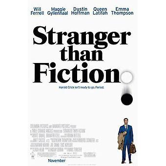 Stranger Than Fiction (Doppelseitige regelmäßige) Original Kino Poster