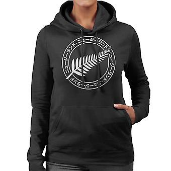 Coto7 Rugby World Cup Japan 2019 Silver Fern New Zealand All Blacks Mens Hooded Sweatshirt