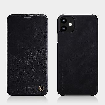 Protective Case Faux Leather Flipcase Cover for Apple iPhone 11 Pro MAX 6.5 inch Black Case Case