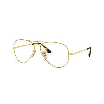 Ray-Ban RB6489 2500 Gold Glasses