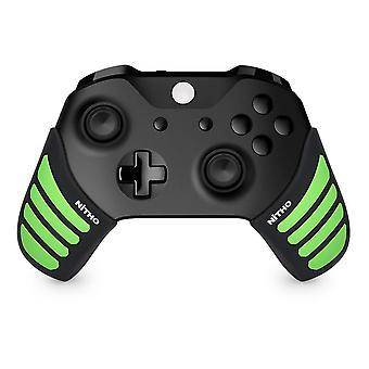 Nitho gaming kit set enhancers voor Xbox One controllers zwart/groen