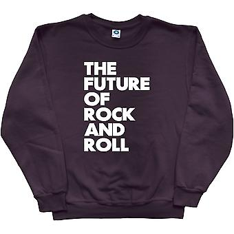 The Future of Rock and Roll Black Sweatshirt