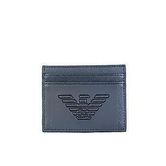Emporio Armani Emporio Cardholder Portefeuille avec 4 machines à sous de carte Y4r125 Yfe6j