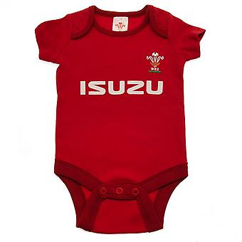Wales RU Baby Bodysuit (Pack Of 2)