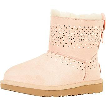 Kids Ugg Australia Girls Leather Ankle Pull On Chelsea Boots