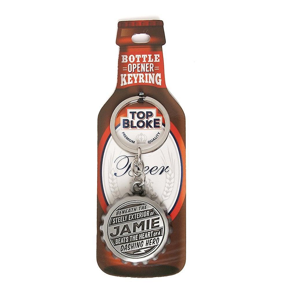 History & Heraldry Keyring - Jamie Bottle Opener