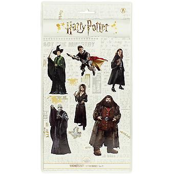 Harry Potter Magnetic Set B Movie Characters 6-piece, printed, 100% plastic, in blister packaging.