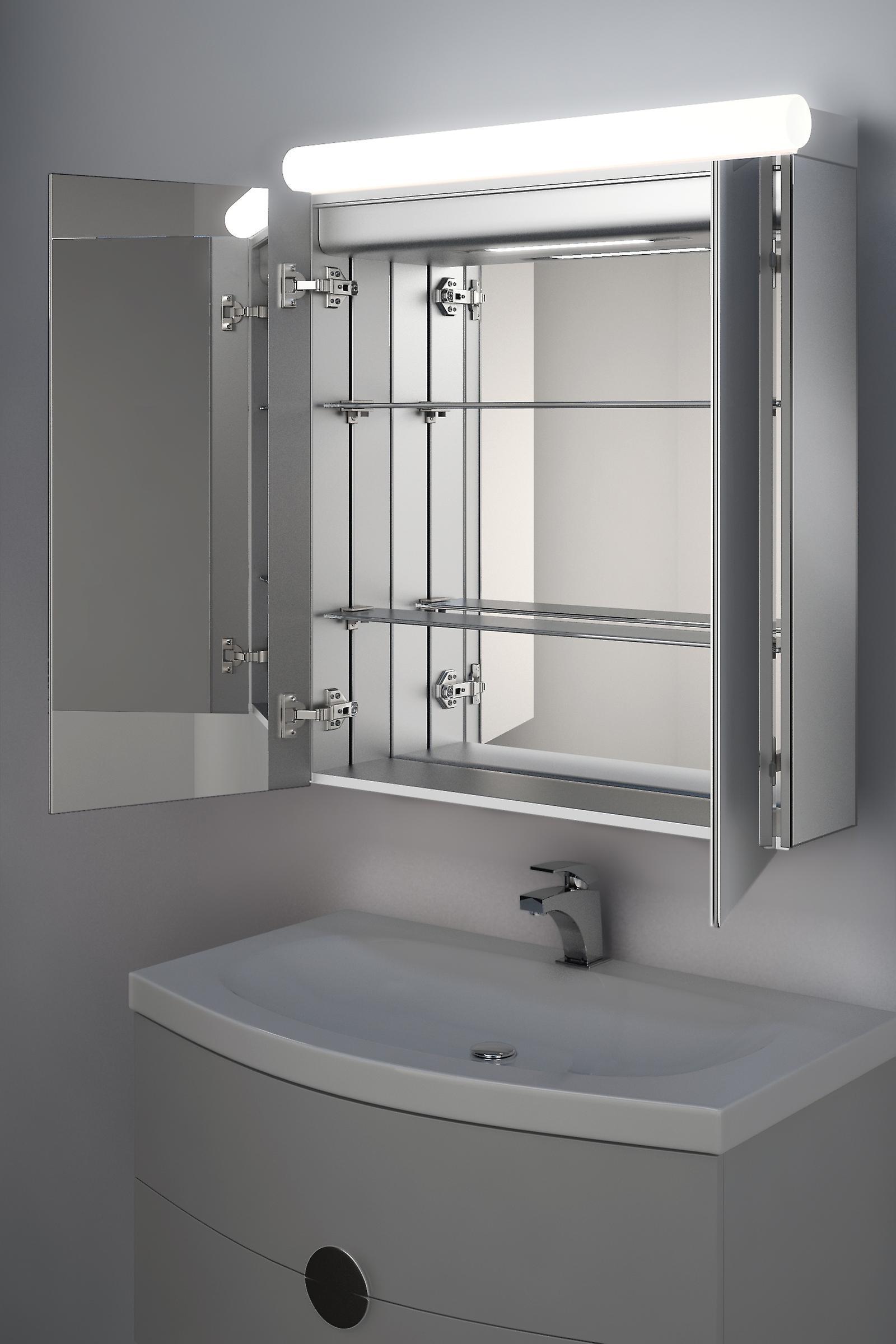 Taniya Top Light Diffuser Cabinet with Sensor, Shaver & Demister k505
