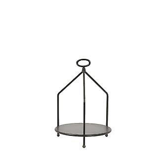 Light & Living Etagere 1 Layer 30x43.5cm Aurdal Black