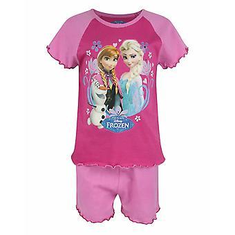 Frozen Elsa și Anna Girl's Copii Pink Pyjama Shorts Set