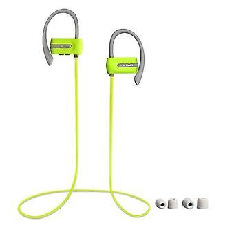 Sporthoofdtelefoon in oor, zweetbestendige Bluetooth-oortelefoons w/ Mic, HD Stereo voor fitness hardlopen