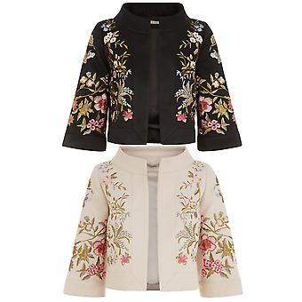 Darling Women's  Hayden Floral Embroidery Jacket